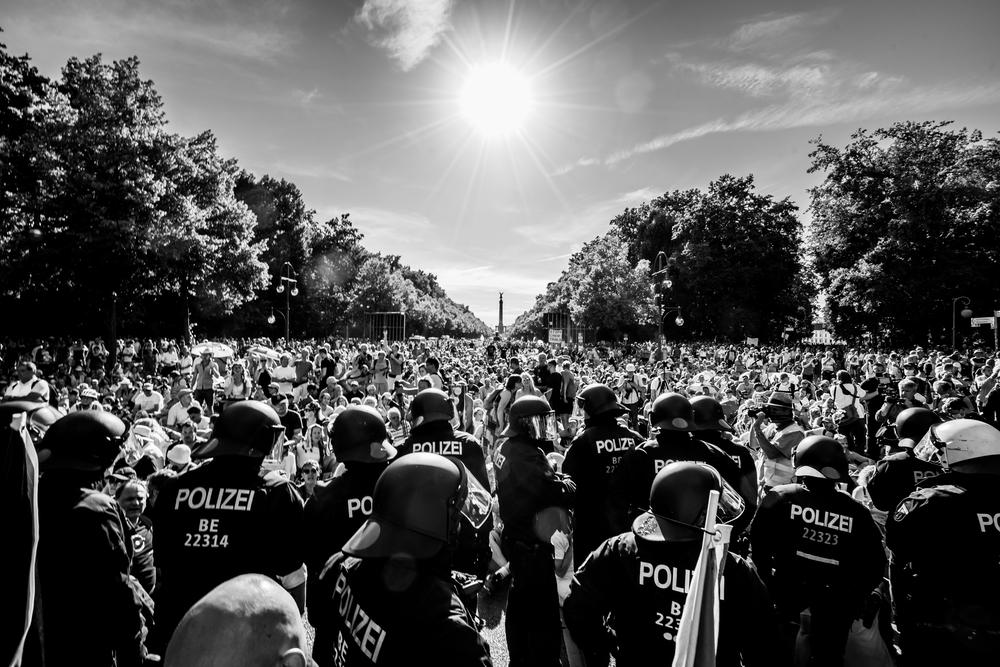 01.08.2020 Straße des 17. Juni Berlin