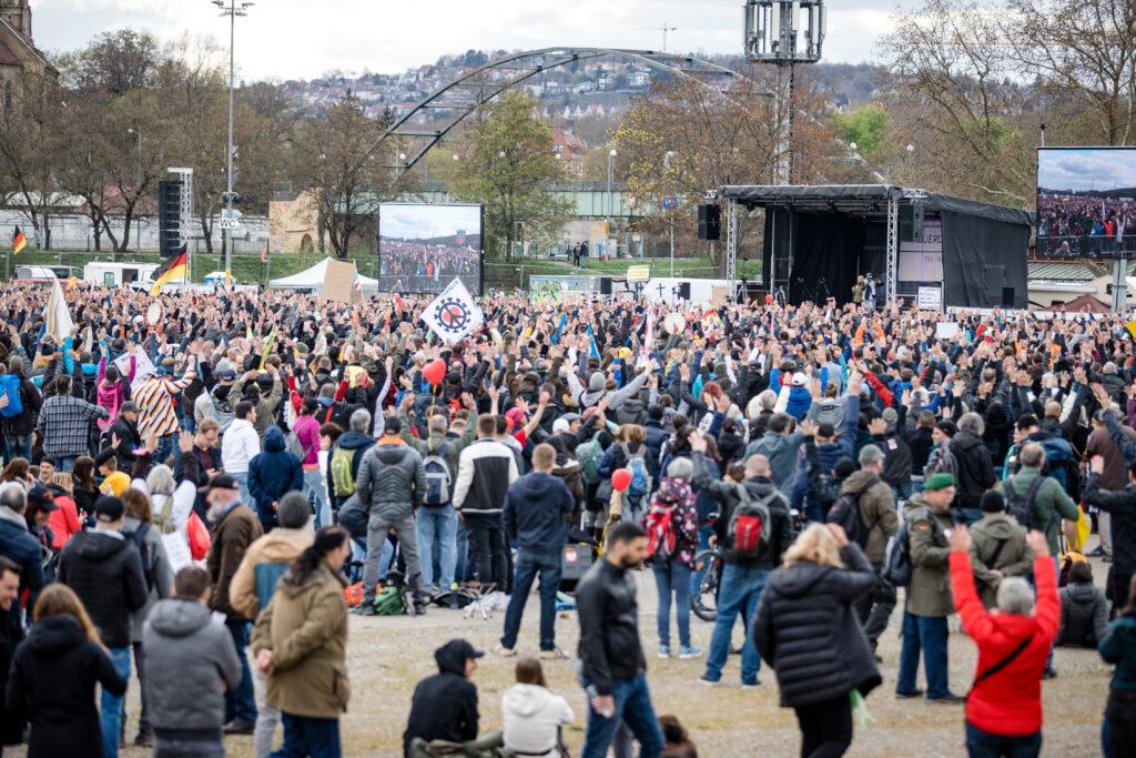 03.04.2021 Cannstatter Wasen Stuttgart