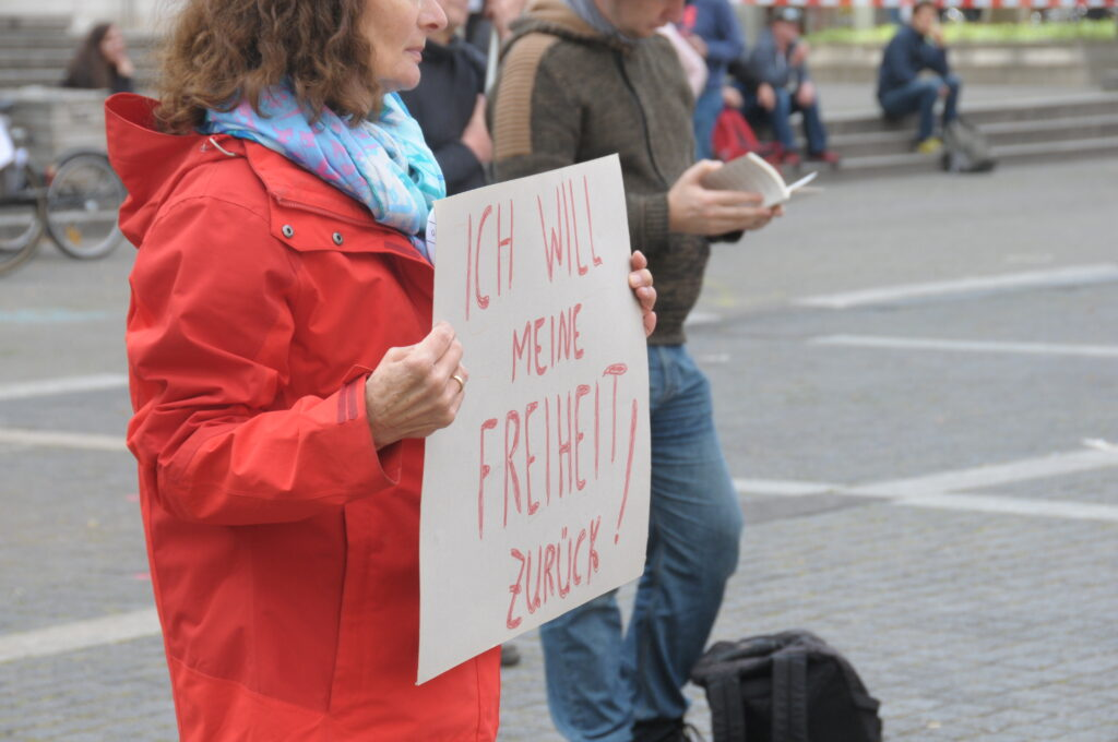 18.04.2020 Schlossplatz Stuttgart