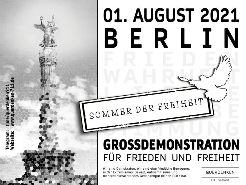 Demo 01.08.2021 - Berlin
