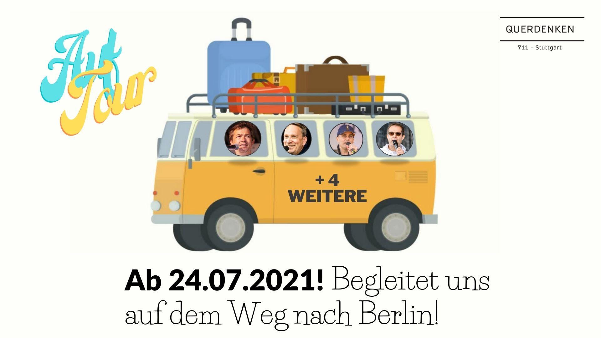 Ab 24.07.2021 - 8 Busse auf dem Weg nach Berlin!