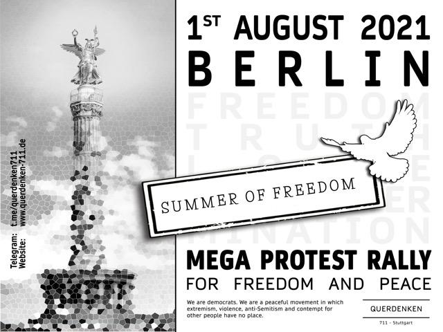 Mega Protest Rally 01.08.2021
