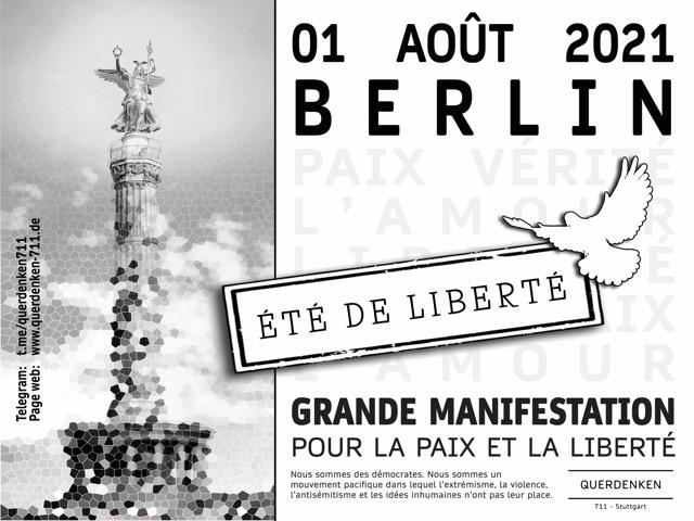 Grande Manifestatioin 01.08.2021
